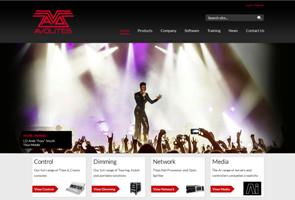 Avolites neue Homepage
